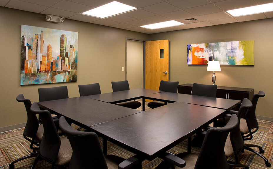 Non-profit-conference-room-construction